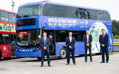 Alexander Dennis and partners launch COP26 electric bus tour from London to Glasgow to highlight net zero projects